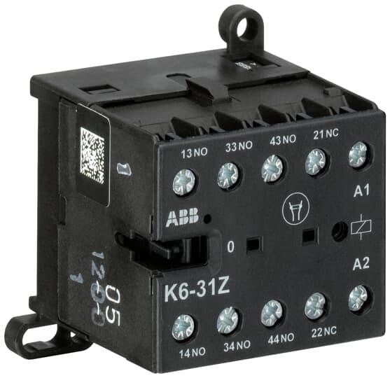 ABB K6-31Z-84 Mini Contactor Relay