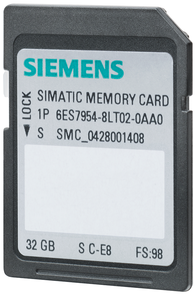 Siemens 6ES79548LT030AA0 Memory Card