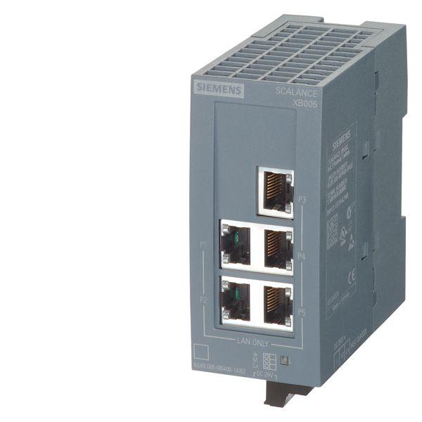 Siemens 6GK50050BA001AB2 Ethernet Switch