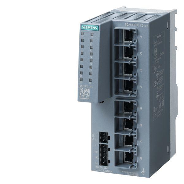 Siemens 6GK51080BA002AC2 SCALANCE IE Switch