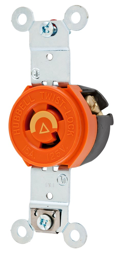 Hubbell IG4710 Locking Receptacle