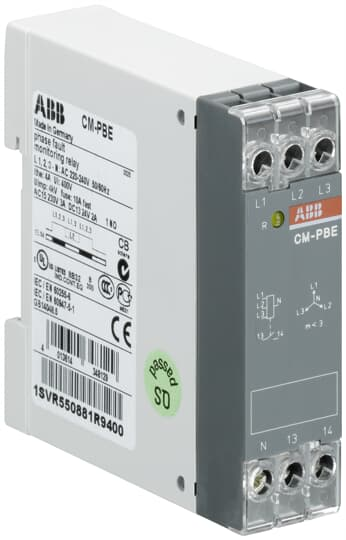 ABB 1SVR550881R9400 Phase Loss Monitoring Relay