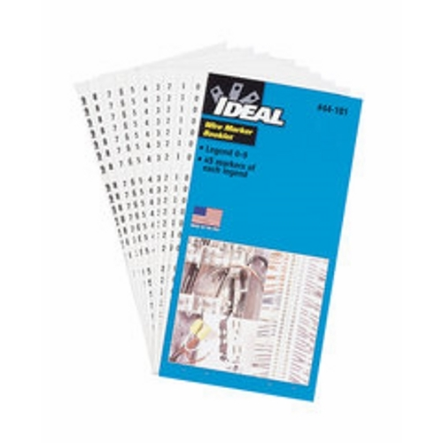 IDEAL 44-103 Wire Marker Booklet