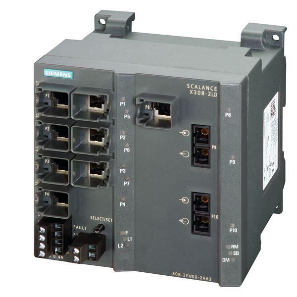 Siemens 6GK53082FM102AA3 Industrial Ethernet Switch