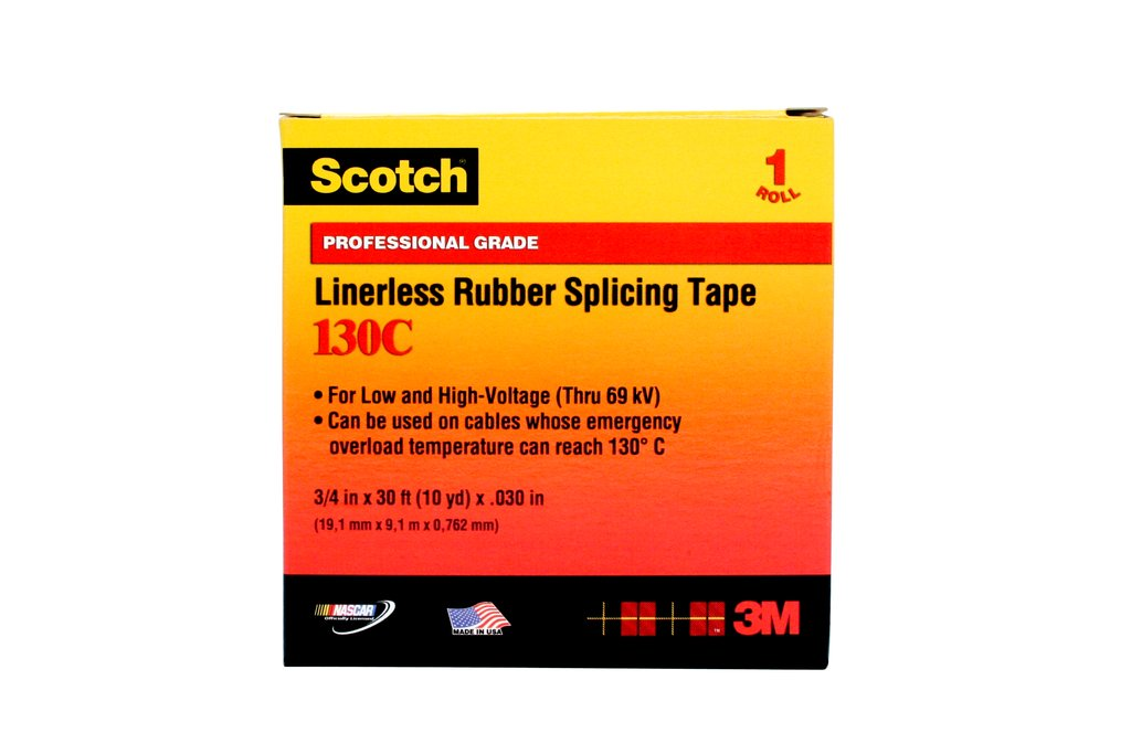 3M 130C-1X30FT Rubber Tape