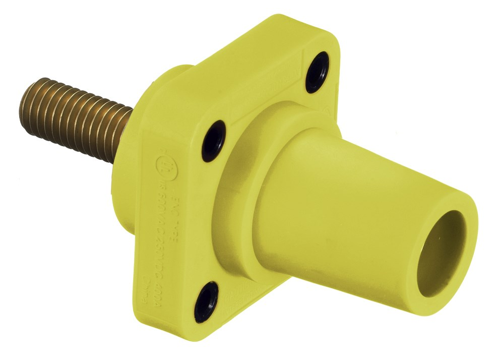 Hubbell HBLFRSCY Single Pole Receptacle