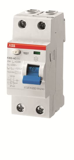 ABB F202A-25/0.1 Residual Current Circuit Breaker