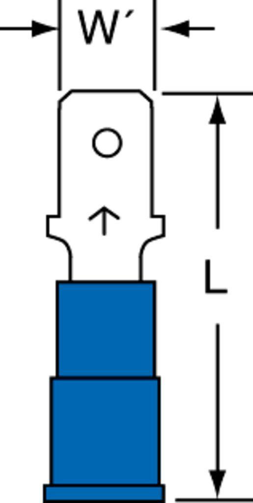 3M MVU14-187DMX Electrical Terminal