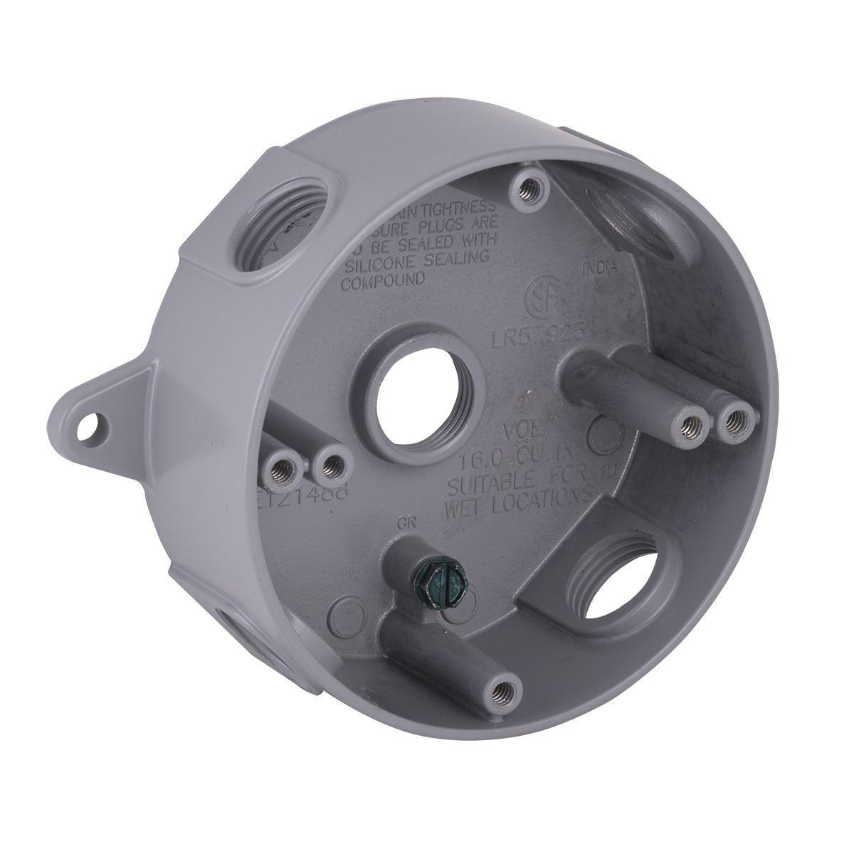 Hubbell-Raco 5361-0 BELL Weatherproof Splice Box
