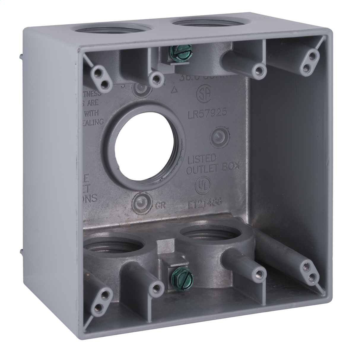 Hubbell-Raco 5389-0 BELL Weatherproof Outlet Box