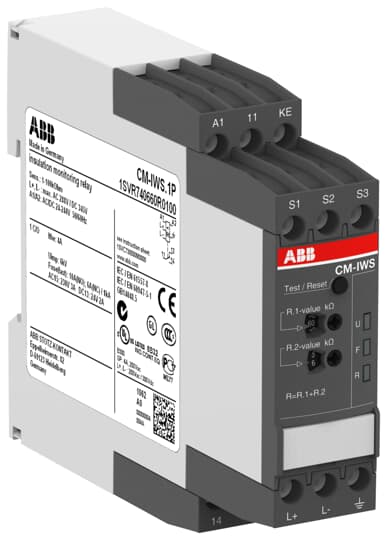 ABB 1SVR740660R0100 Insulation Monitoring Relay