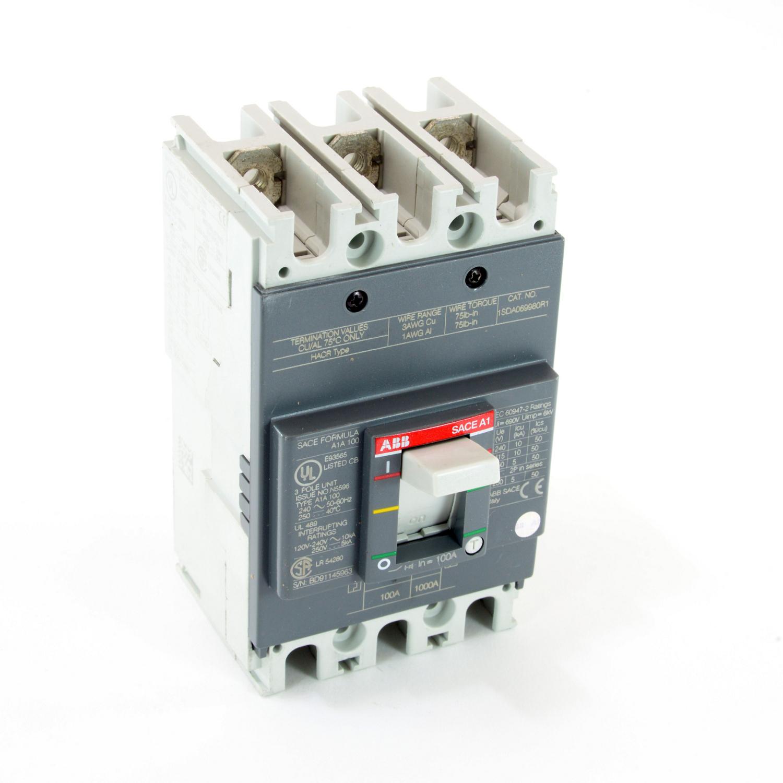 ABB A1A100TW FORMULA Molded Case Circuit Breaker