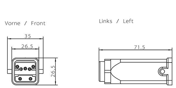 Siemens 6GK19050CA00 Hybrid Plug