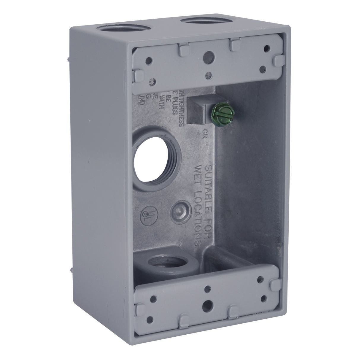 Hubbell-Raco 5321-0 BELL Weatherproof Outlet Box