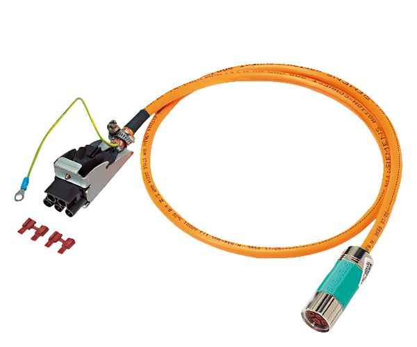 Siemens 6FX80081BA612AA0 MOTION-CONNECT 800 PLUS Power Cable