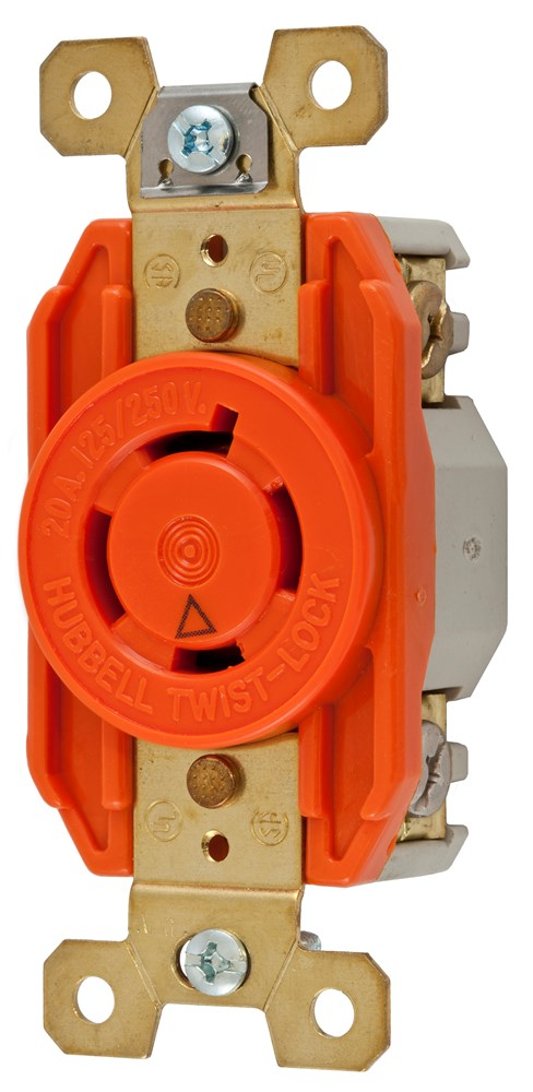 Hubbell IG2410 Locking Receptacle