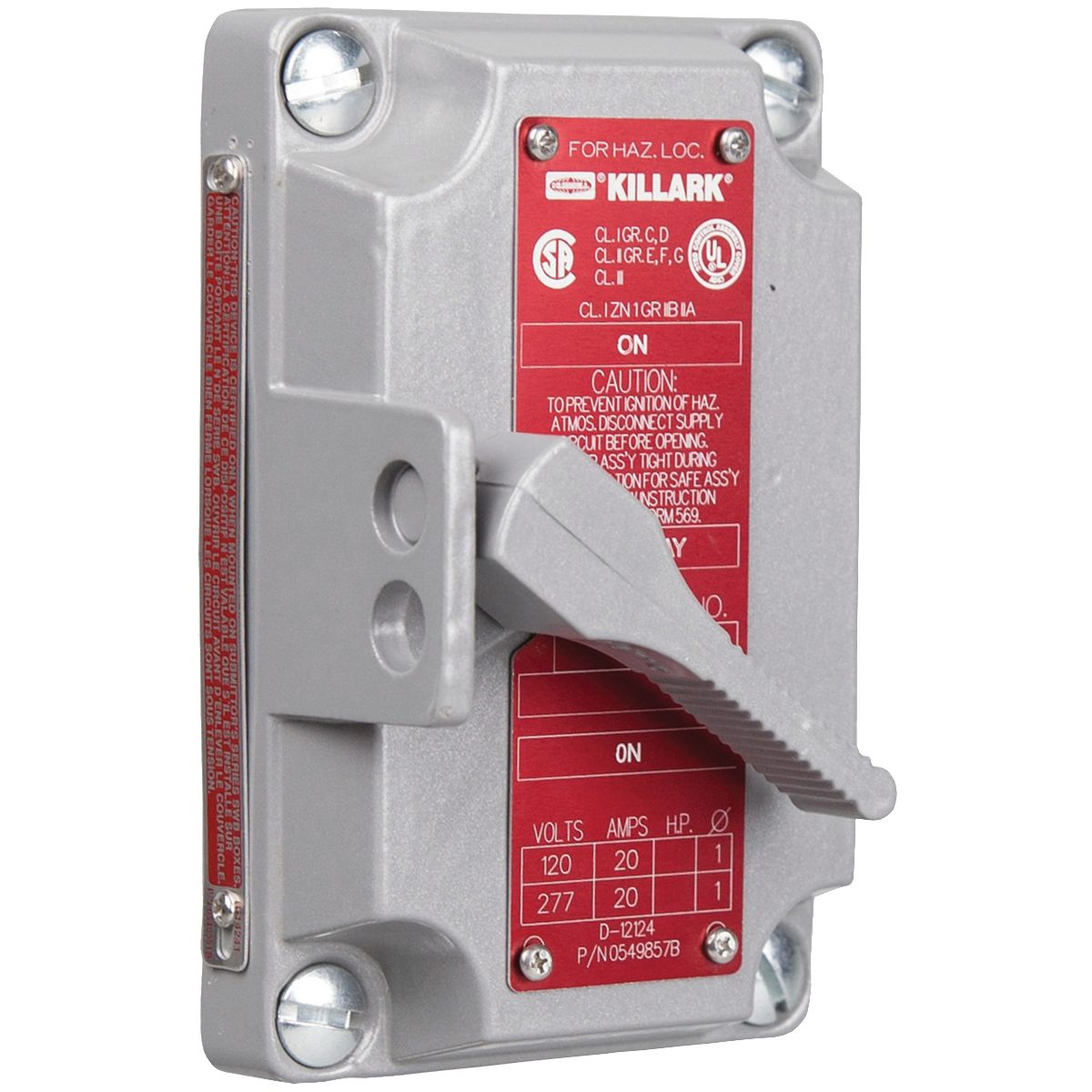 Hubbell XS-2C Tumbler Switch Cover