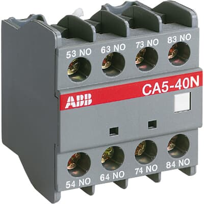 ABB CA5-40N Auxiliary Contact Block