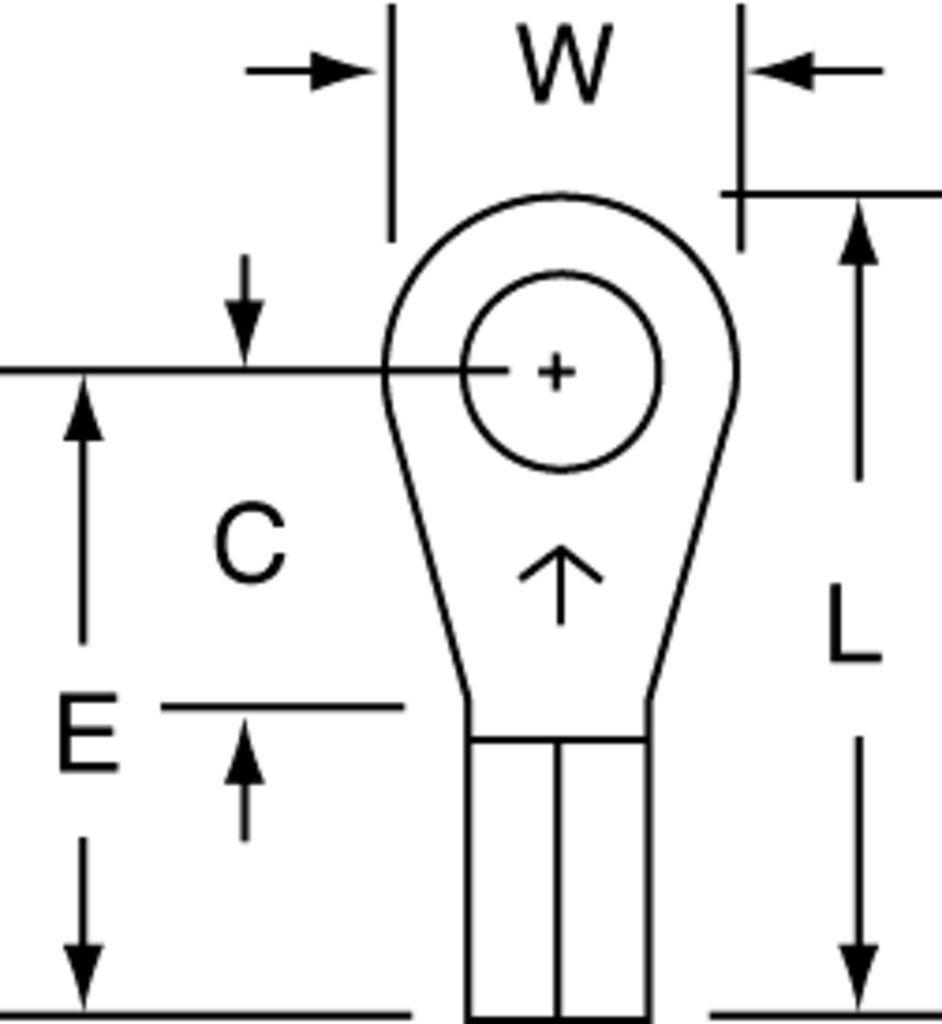 3M MU14-8RLX Electrical Terminal