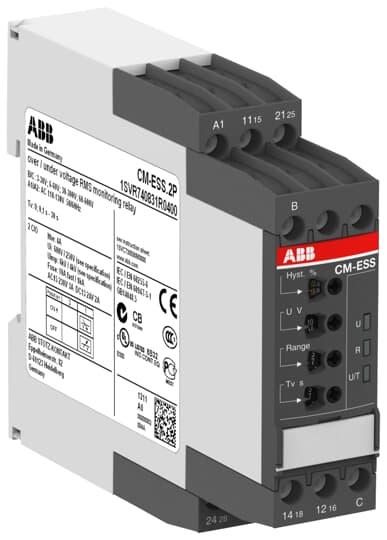 ABB 1SVR740831R0400 Voltage Monitoring Relay