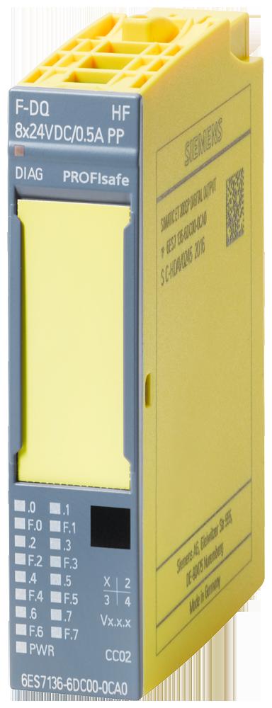 Siemens 6ES71366DC000CA0 SIMATIC DP Digital F-Output Module