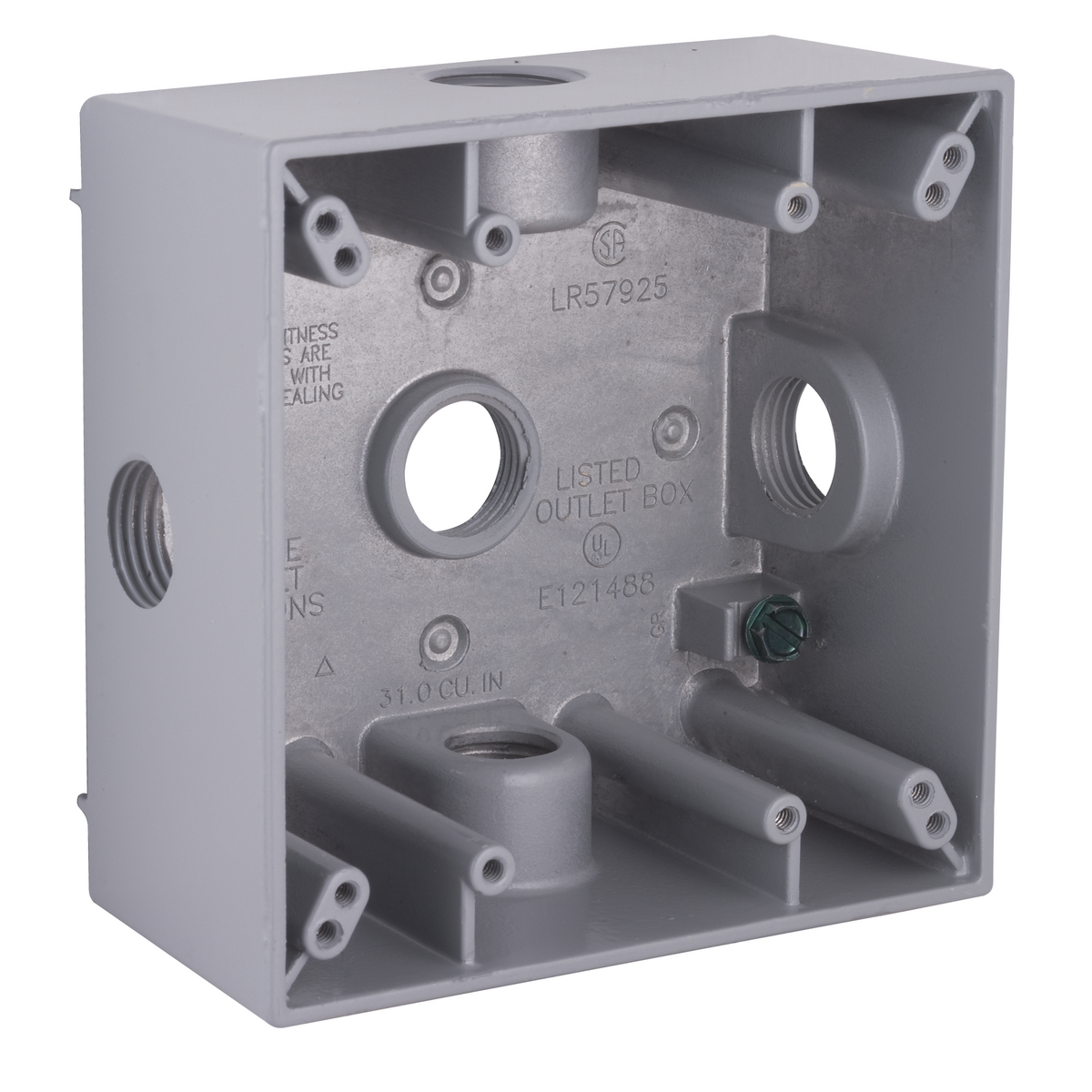 Hubbell-Raco 5334-0 BELL Weatherproof Outlet Box