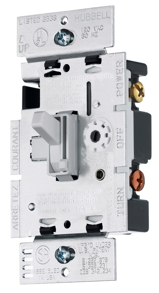 Hubbell RAYCL153PW Dimmer Switch