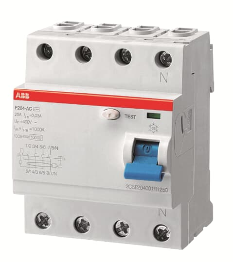 ABB F204A-25/0.03APR Residual Current Circuit Breaker