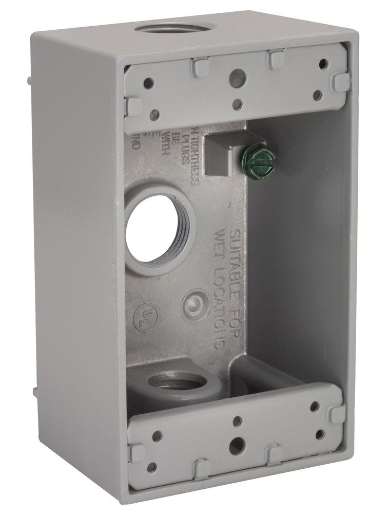Hubbell HIWP75GY Device Box