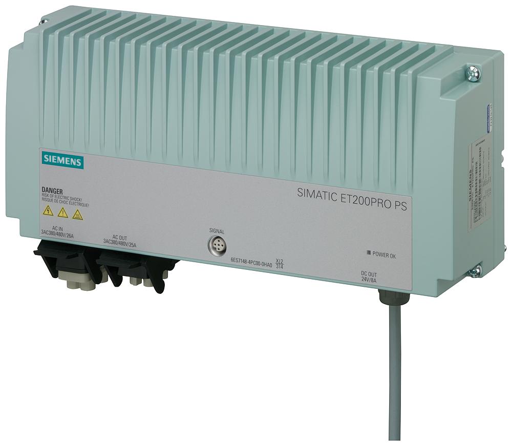 Siemens 6ES71484PC000HA0 SIMATIC Regulated Power Supply Module