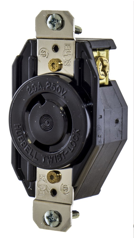 Hubbell L620R Locking Receptacle