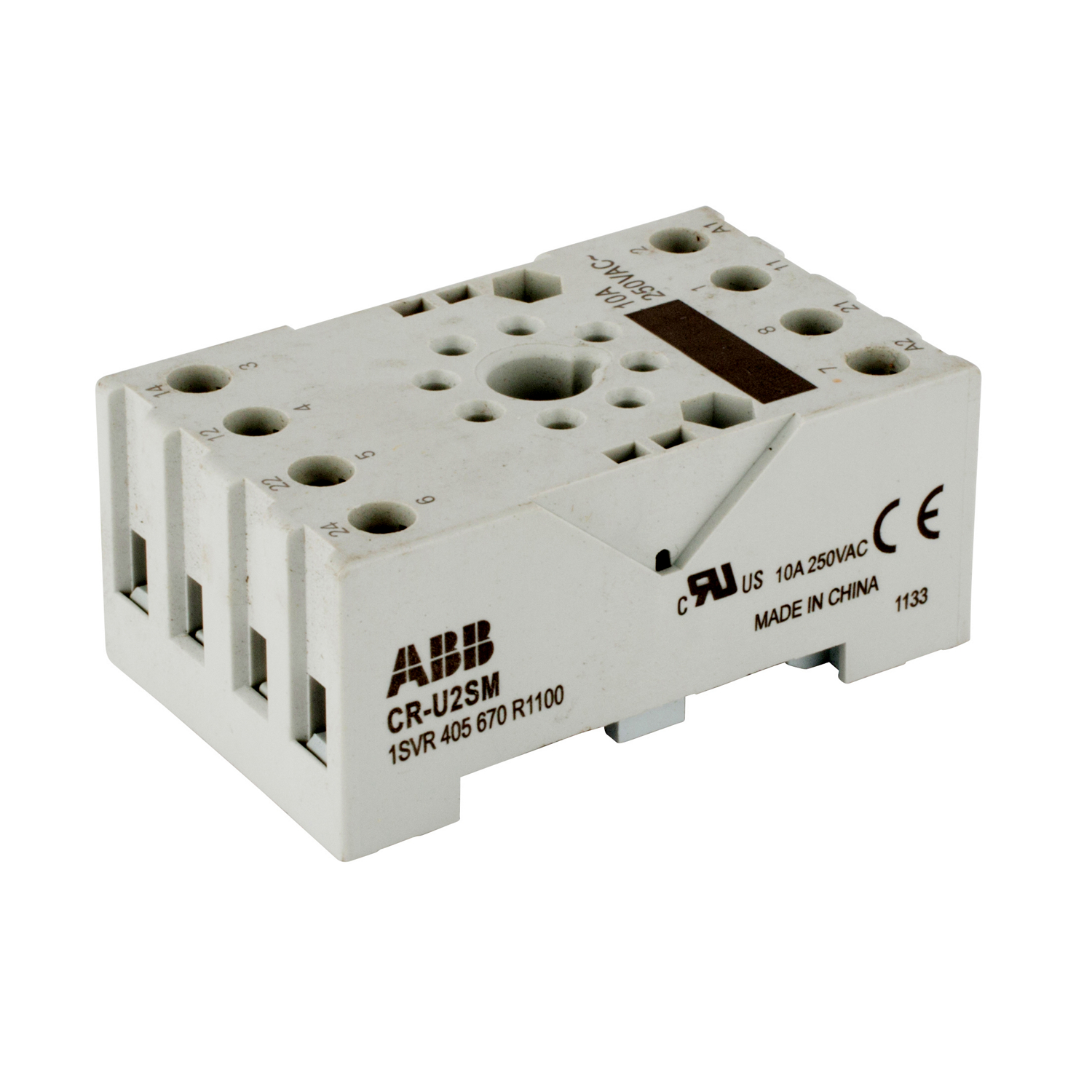 ABB 1SVR405670R1100 Relay Socket Or Base