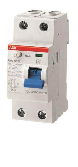 ABB F202AC-40/0.3 Residual Current Circuit Breaker