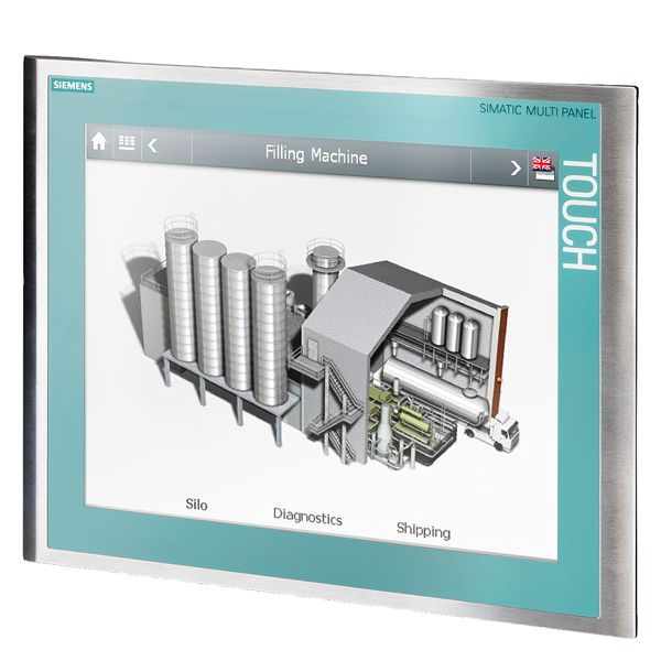 Siemens 6AV66430ED012AX0 SIMATIC Touch Multi-Panel