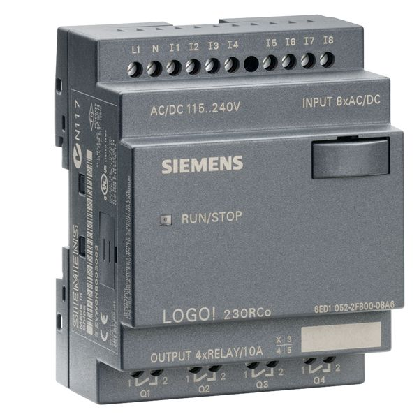 Siemens 6ED10522FB000BA6 Programmable Relay Display Module