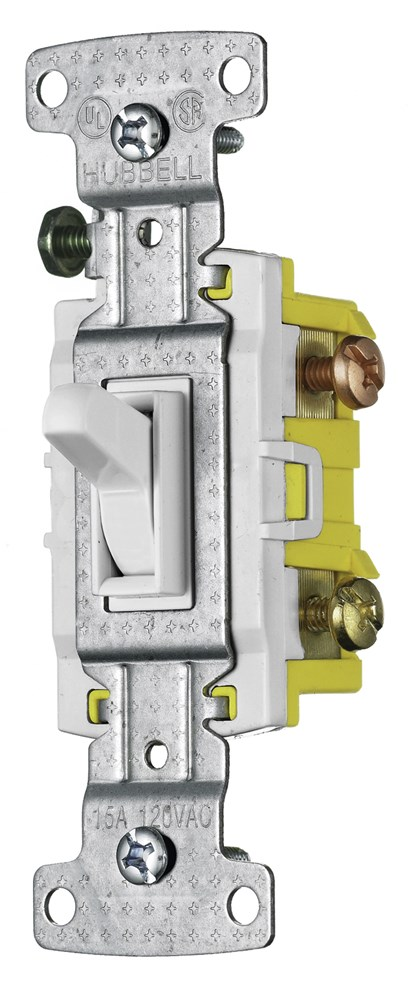 Hubbell RS315W Toggle Switch