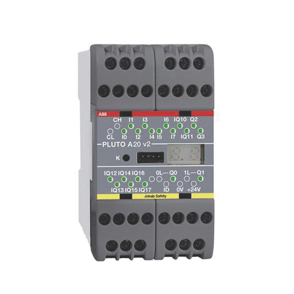 ABB 2TLA020070R4500 PLUTO Safety PLC
