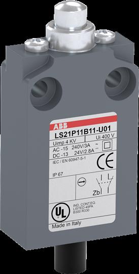 ABB LS21P11B11-U01 Limit Switch