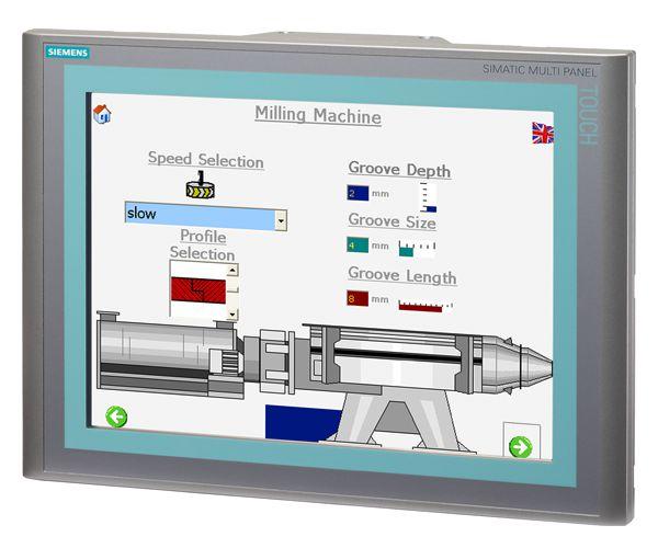 Siemens 6AV66442AB012AX0 SIMATIC Touch Multi-Panel