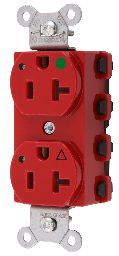 Hubbell SNAP8300RIGL Straight Blade Receptacle