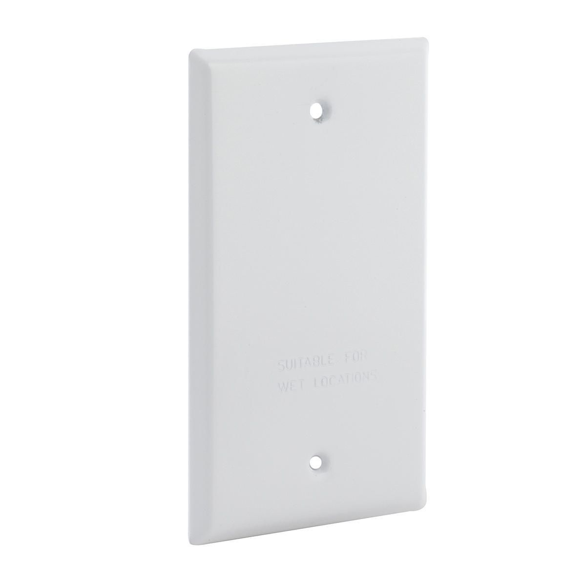 Hubbell-Raco 5173-1 BELL Blank Cover