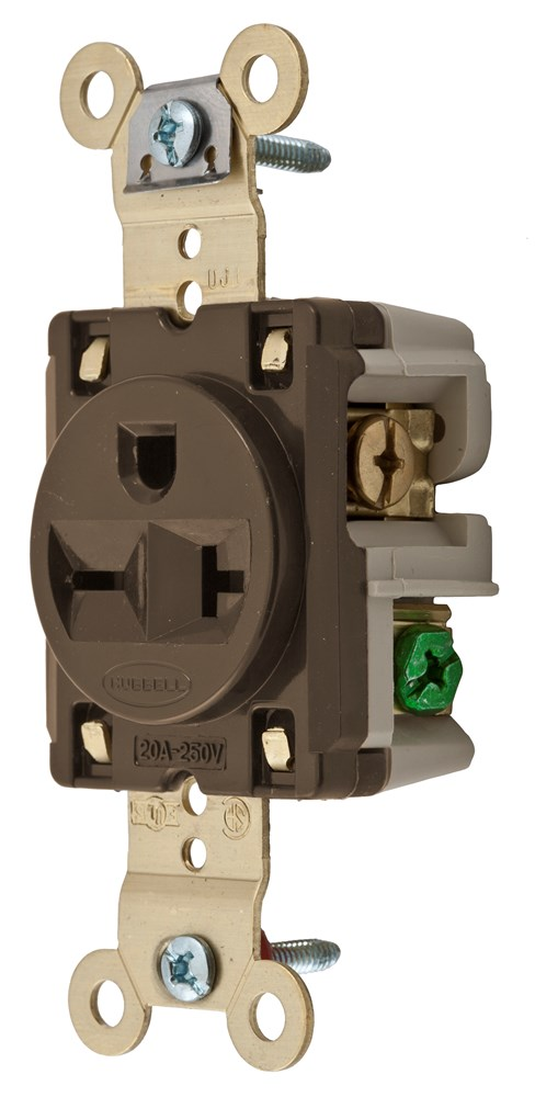Hubbell IG5461 Straight Blade Receptacle