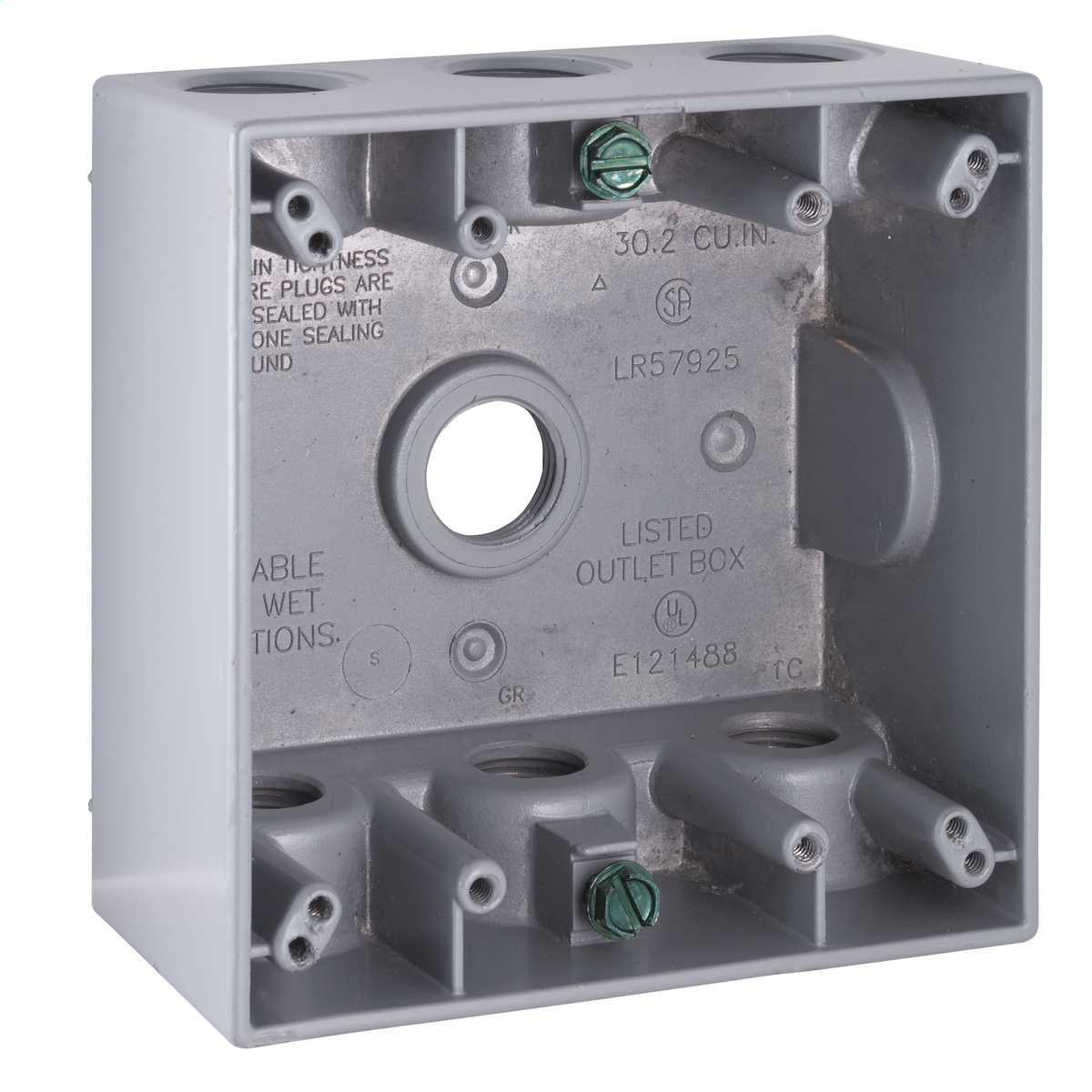 Hubbell-Raco 5340-0 BELL Weatherproof Outlet Box