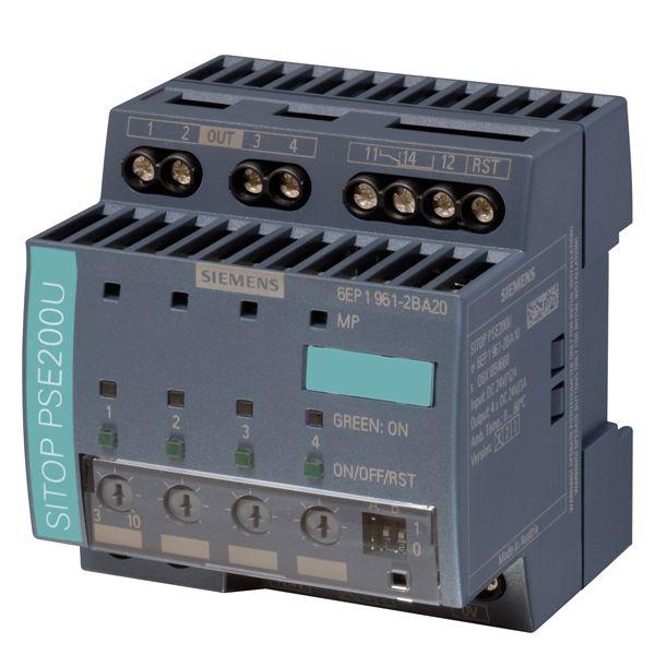 Siemens 6EP19612BA21 Selectivity Module