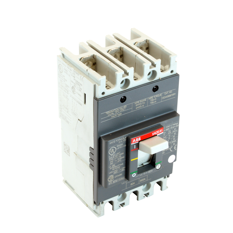 ABB A1A060TW Molded Case Circuit Breakrs