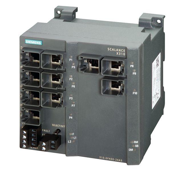 Siemens 6GK53100FA102AA3 Industrial Ethernet Switch