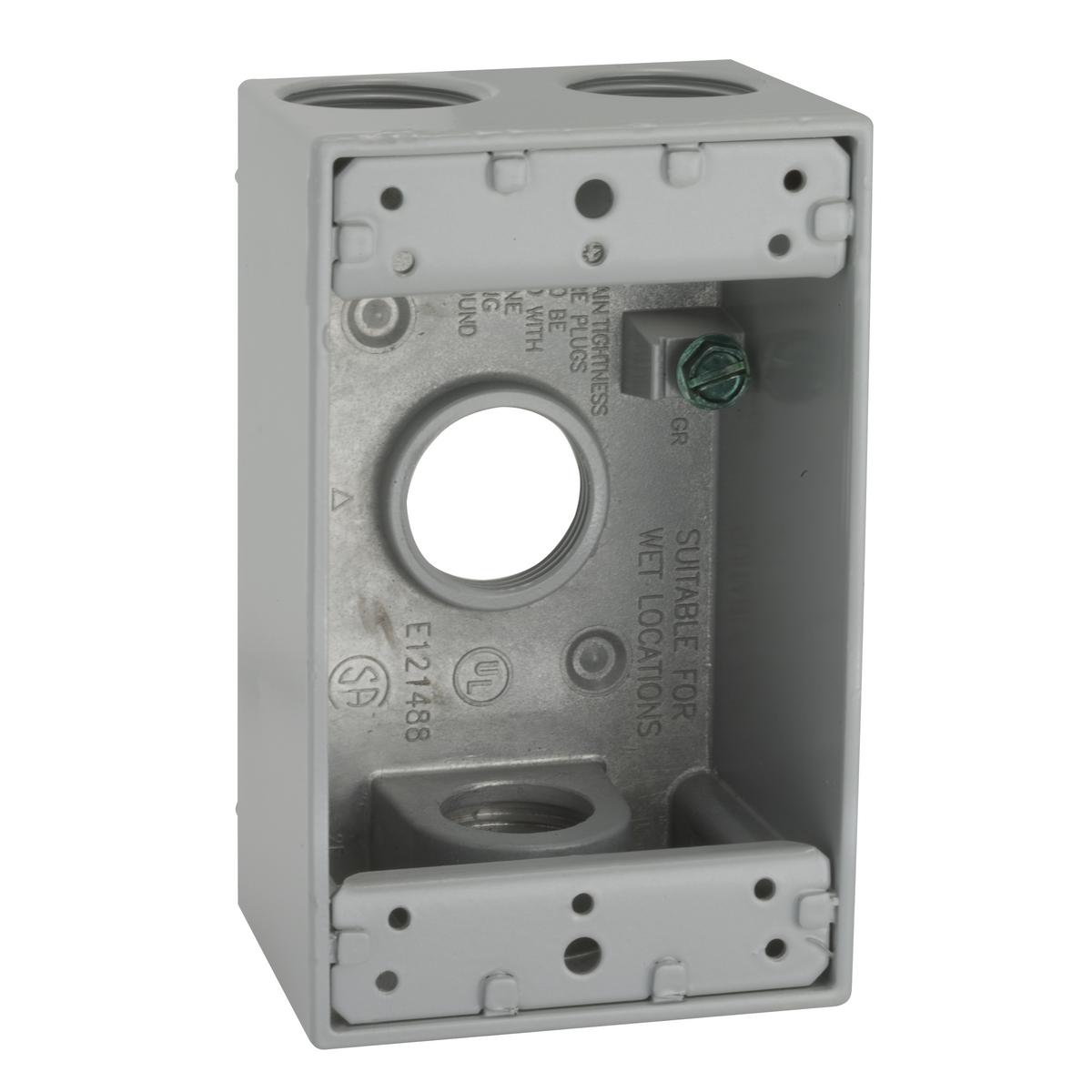 Hubbell-Raco 5330-0 BELL Gang Box