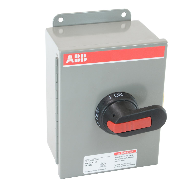 ABB EOT45U3M3-P Enclosed Disconnect Switch