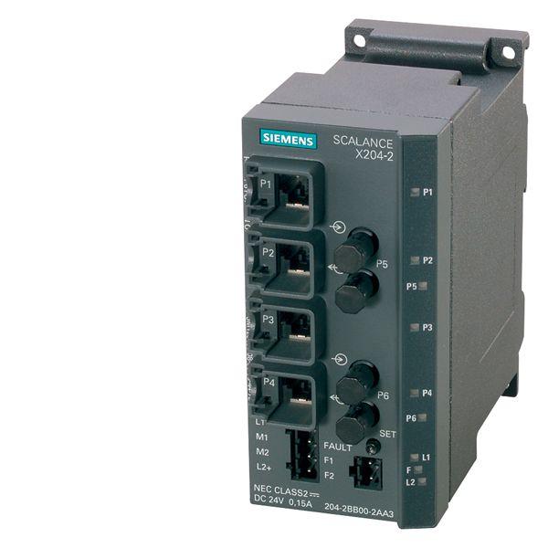 Siemens 6GK52042BB102AA3 Industrial Ethernet Switch