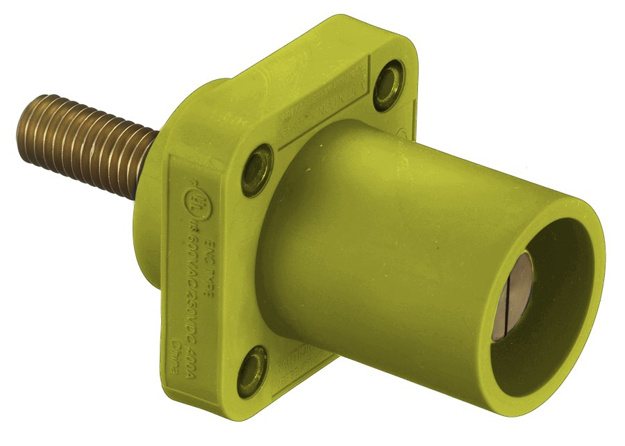 Hubbell HBLMRSY Single Pole Receptacle